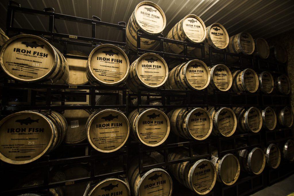 Mi craft beverages breweries distilleries wineries top for Iron fish distillery